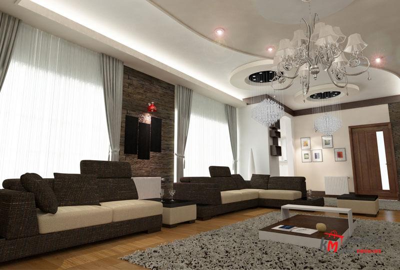 طراحی دکوراسیون داخلی شهرک انقلاب- 424-07 |خانه معمار