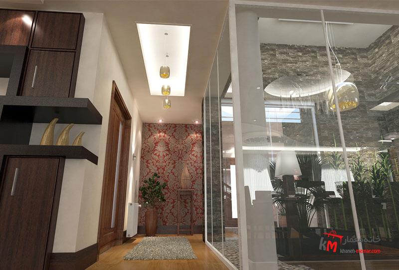 طراحی دکوراسیون داخلی شهرک انقلاب- 424-08 |خانه معمار