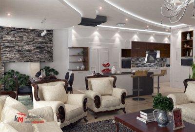 طراحی دکوراسیون داخلی خیابان قدس- 446-01 |خانه معمار