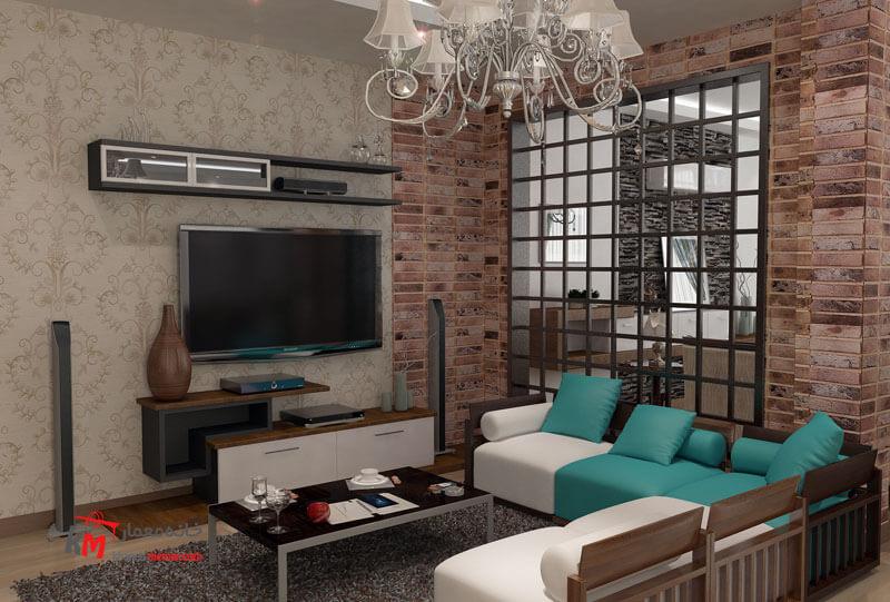 طراحی دکوراسیون داخلی خیابان قدس- 446-04 |خانه معمار