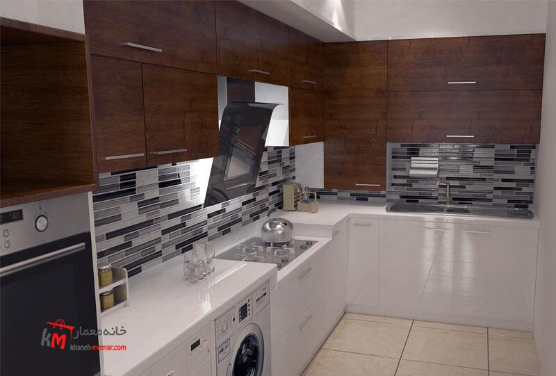 طراحی دکوراسیون داخلی خیابان قدس- 446-07 |خانه معمار