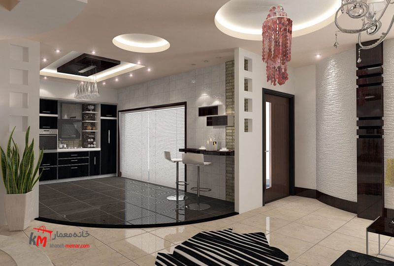 طراحی دکوراسیون داخلی خیابان اورژانس-بالا 484-01|خانه معمار