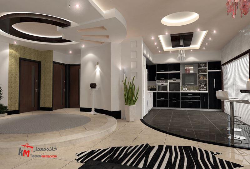 طراحی دکوراسیون داخلی خیابان اورژانس-بالا 484-02|خانه معمار