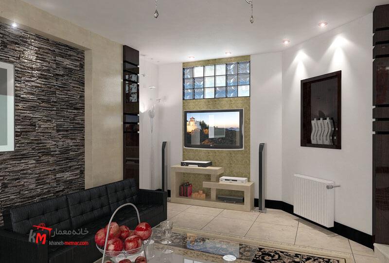 طراحی دکوراسیون داخلی خیابان اورژانس-بالا 484-03|خانه معمار