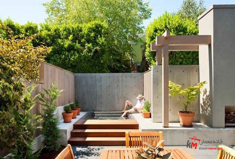 طراحی فضای سبز نمونه 21|خانه معمار