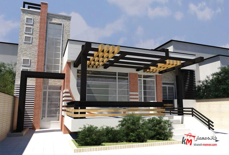 طراحی نما نمونه کار 418.01|خانه معمار