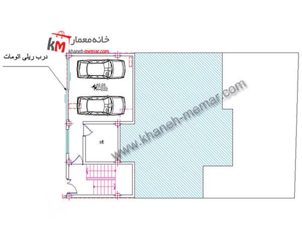 طراحی نقشه خانه مسکونی 327-2-2