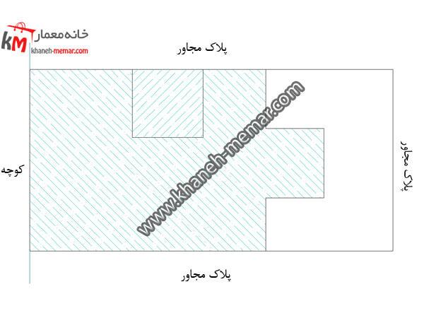 نقشه ساختمان سه طبقه 358-1