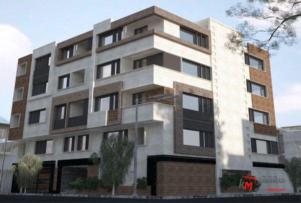 طراحی نما نمونه کار amodi 522.01 |خانه معمار