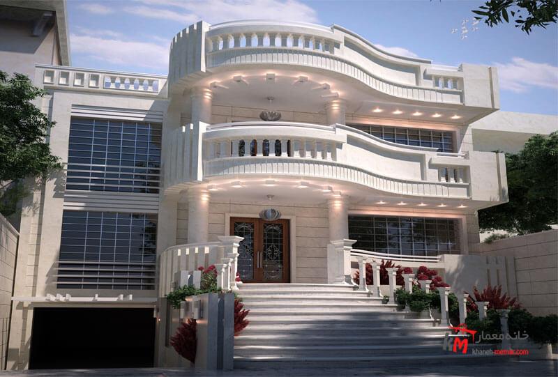 طراحی نما نمونه کار amodi 541.01 |خانه معمار