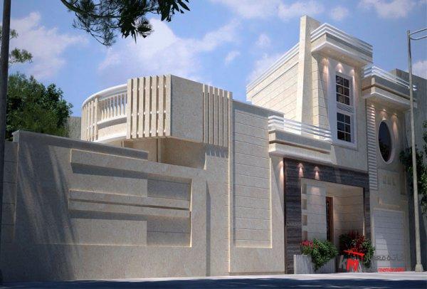 طراحی نما نمونه کار 548.01|خانه معمار