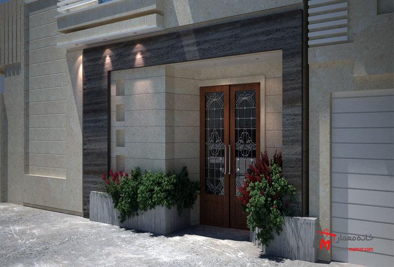 طراحی نما نمونه کار 548.02|خانه معمار