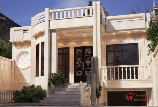 طراحی نما نمونه کار amodi 568.01 |خانه معمار