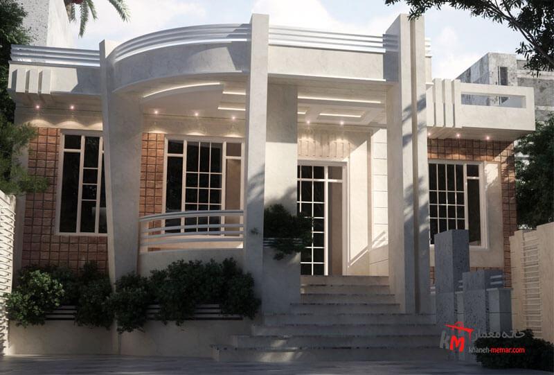 طراحی نما نمونه کار amodi 586.01 |خانه معمار