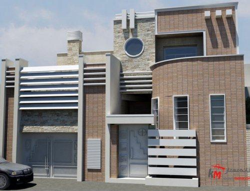 طراحی نمای شمالی خانه به سبک مدرن 64