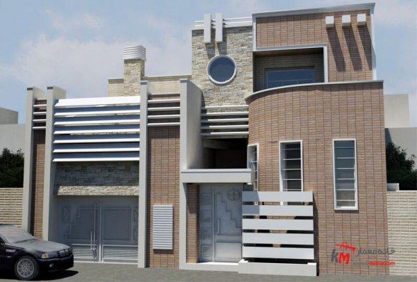 طراحی نما نمونه کار 593.01|خانه معمار