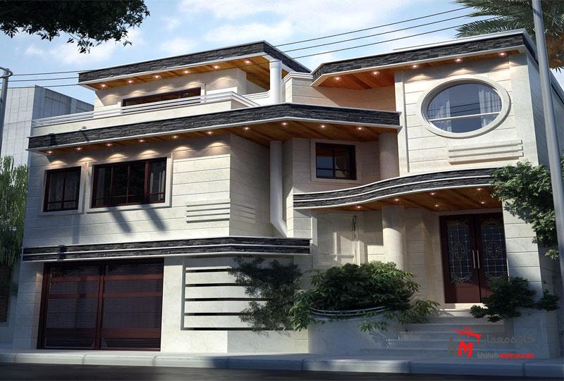 نمای ساختمان نمونه کار 598.01|خانه معمار