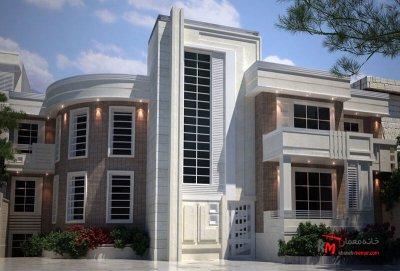 طراحی نما نمونه کار 450.01|خانه معمار