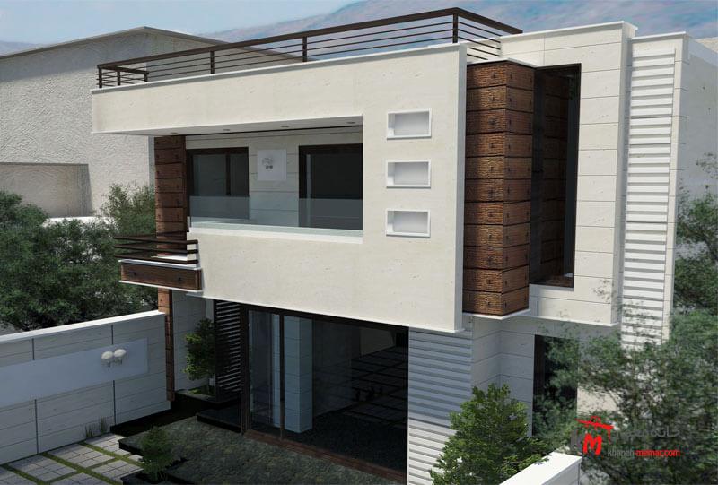 طراحی نما نمونه کار amodi 456.01 |خانه معمار