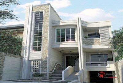 طراحی نما نمونه کار 458.01 |خانه معمار