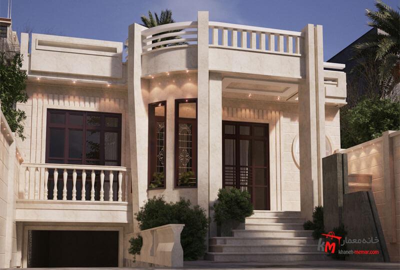 طراحی نما نمونه کار 471.01 |خانه معمار