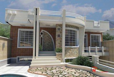 طراحی نما نمونه کار 473.01 |خانه معمار