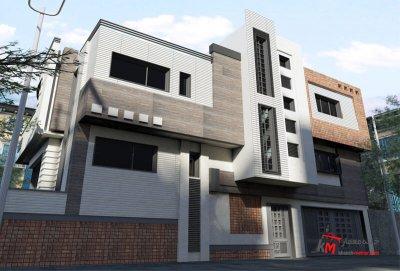 طراحی نما نمونه کار amodi 474.01 |خانه معمار
