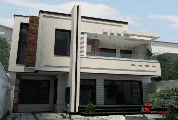 طراحی نما نمونه کار amodi 478.01 |خانه معمار