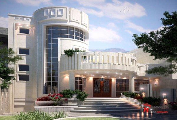 طراحی نما نمونه کار amodi 484.01 |خانه معمار