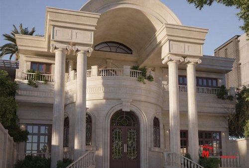 نمای ساختمان طراحی شده Architect House