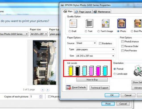 آموزش پرینت رنگی | چطوری یک عکس را چاپ کنم