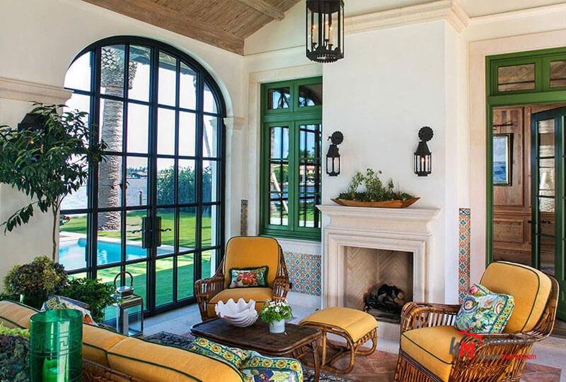 سبک مدیترانه ایی در دکوراسیون Interior design home 3)سبک مدیترانه ای در دکوراسیون داخلی منزل