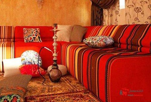 سبک سنتی خاورمیانه در دکور