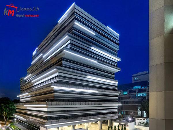 ساختمان به سبک کاملان جدید و خاص