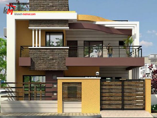 نمای ساختمان به سبک مدرن و امروزی