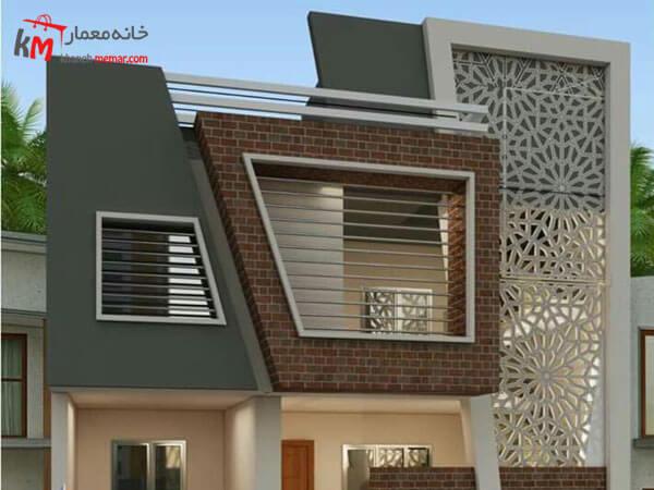 نمای ساختمان با تزیینات