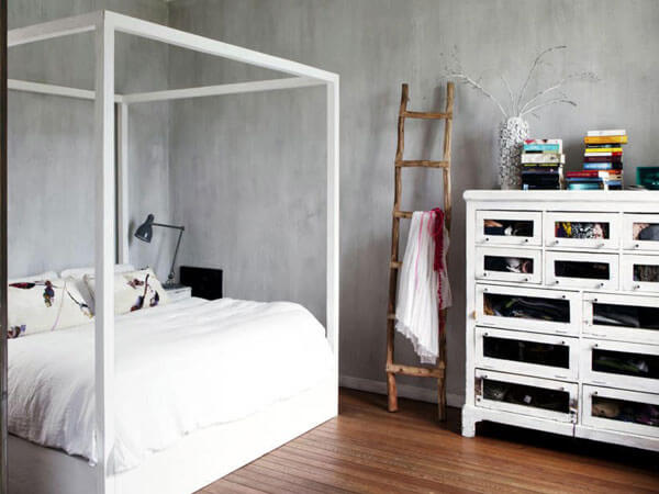 تخت مناسب اتاق کودک ایجاد یک نقطه کانونی به رنگ سفید