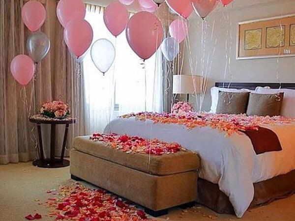 ایده هایی جذاب با گل جهت زیباسازی خوابها