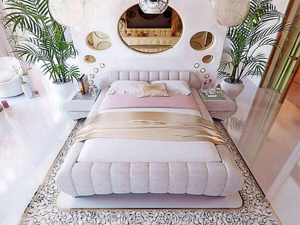 تختخواب با رنگ روشن