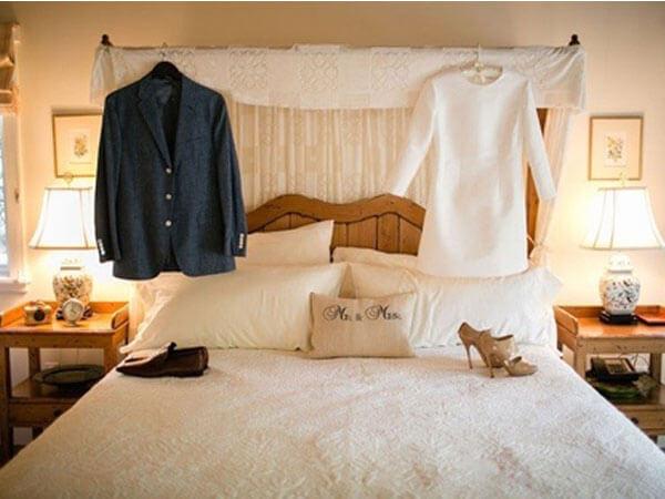طراحی اتاق خواب برای عروس و داماد