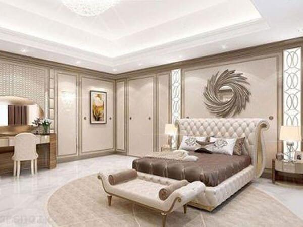 پیدمان و دکور اتاق خواب کلاسیک