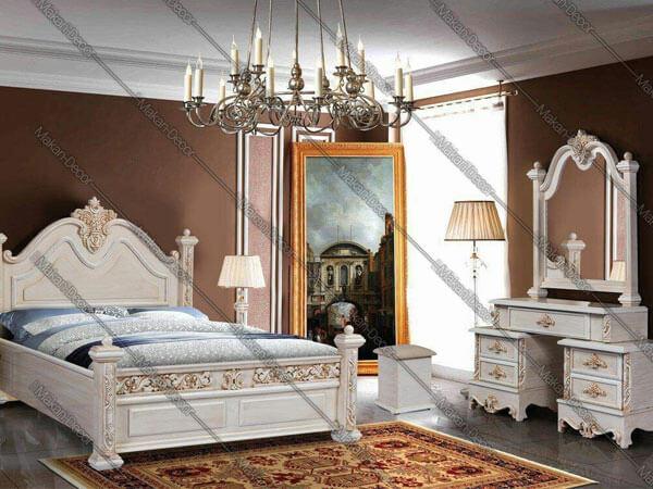 زیباترین تزیینات با سرویس خواب کلاسیک
