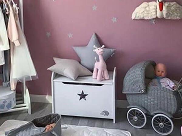 دیزاین اتاق کودک تزیین اتاق کودک با عروسک