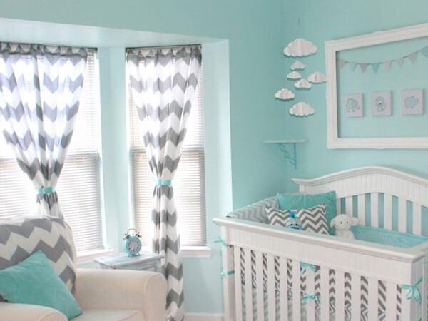 خواب با رنگ آبی رنگ مناسب اتاق دخترانه