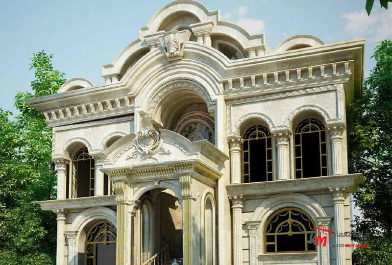 نمای کلاسیک چیست؟ نمای ساختمان شیک