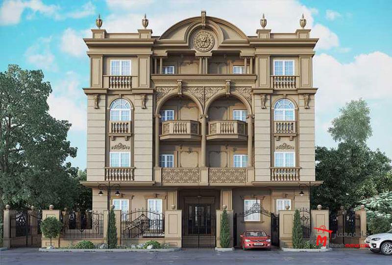 نمای آپارتمان به سبک رومی نمای کلاسیک چیست؟