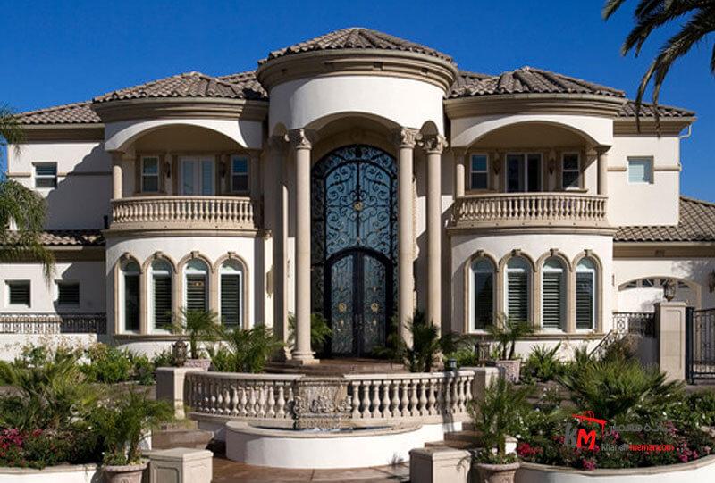 نمای ساختمان Classic view مصالح متداول نمای کلاسیک