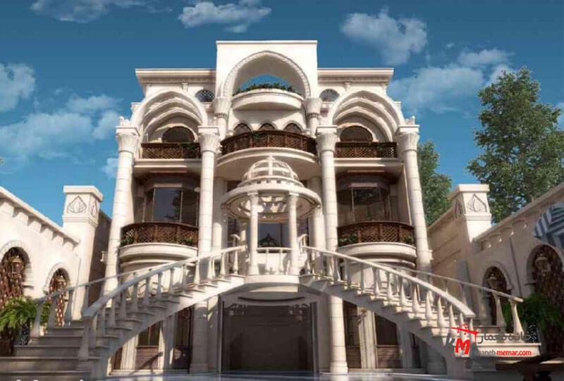 نمای کلاسیک در نمای ساختمان نمای کلاسیک چیست؟ و چه سنگ هایی برای کار با این نما مناسب است؟