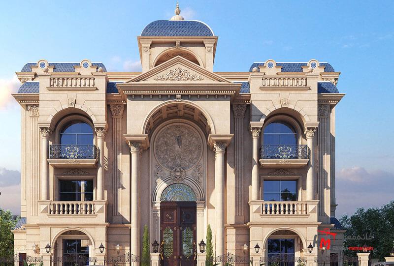 نمای کلاسیک چیست؟ نما ساختمان نمایی شیک و زیبا