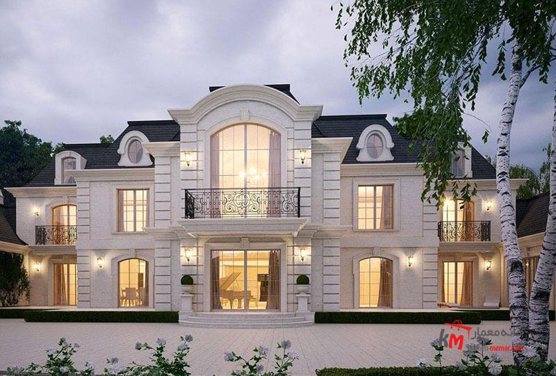 نمای ساختمان ساده و زیبا به نظر شما اشکال کار کجاست؟